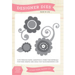 Echo Park - Spring Collection - Designer Dies - Flower - Three