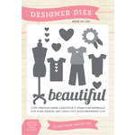 Echo Park - Children Collection - Designer Dies - Beautiful Girl