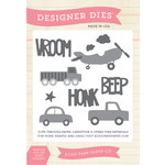 Echo Park - Children Collection - Designer Dies - Beep Honk Vroom