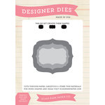 Echo Park - Designer Dies - Medium - Designer Label Set 1