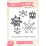 Echo Park - Winter - Designer Dies - Snowflake Set 5
