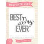 Echo Park - Sentiments - Designer Dies - Best Days Ever
