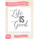 Echo Park - Sentiments - Designer Dies - Life is Good
