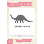 Echo Park - Designer Dies - Brontosaurus - Large