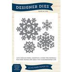 Echo Park - Christmas - Designer Dies - Large - Snowflake Set 2
