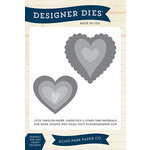 Echo Park - Designer Dies - Large - Heart Set 1