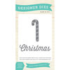 Echo Park - Home for the Holidays Collection - Christmas - Designer Dies - Christmas Candy Cane