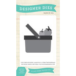 Echo Park - Simple Life Collection - Designer Dies - Simple Picnic Basket