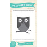 Echo Park - We Are Family Collection - Designer Dies - Owl and Branch