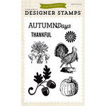 Echo Park - Clear Acrylic Stamps - Hello Fall