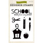 Echo Park - Clear Acrylic Stamps - Back-to-School
