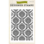 Echo Park - Clear Acrylic Stamps - Damask Background