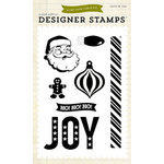 Echo Park - Christmas Cheer Collection - Clear Acrylic Stamps - Joy