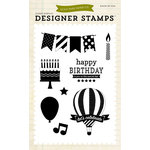 Echo Park - Children Collection - Designer Stamps - Let's Celebrate