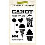 Echo Park - Children Collection - Designer Stamps - Sweet as Candy