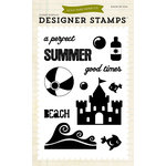 Echo Park - Summer Collection - Designer Stamps - Perfect Summer