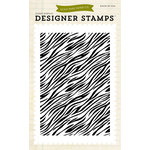 Echo Park - Children Collection - Designer Stamps - Zebra Print