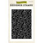 Echo Park - Everyday Collection - Designer Stamps - Words