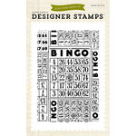 Echo Park - Everyday Collection - Designer Stamps - Bingo Cards