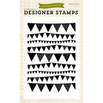 Echo Park - Children Collection - Designer Stamps - Pennant