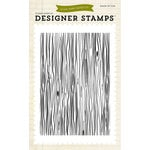 Echo Park - Fall - Clear Acrylic Stamps - Wood Grain