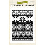 Echo Park - Winter - Clear Acrylic Stamps - Fair Isle