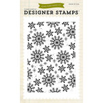Echo Park - Winter - Clear Acrylic Stamps - Snowflakes 3