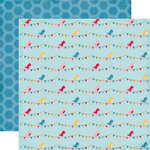 Echo Park - Fine and Dandy Collection - 12 x 12 Double Sided Paper - Sweet Birds