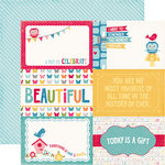 Echo Park - Fine and Dandy Collection - 12 x 12 Double Sided Paper - 4 x 6 Journaling Cards