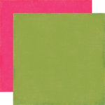 Echo Park - Fine and Dandy Collection - 12 x 12 Double Sided Paper - Green