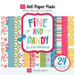 Echo Park - Fine and Dandy Collection - 6 x 6 Paper Pad