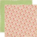 Echo Park - For the Record 2 Collection - Tailored - 12 x 12 Double Sided Paper - Small Floral