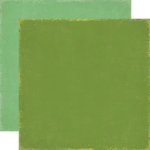 Echo Park - For The Record Collection - 12 x 12 Double Sided Paper - Green and Green