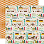 Echo Park - Happy Camper Collection - 12 x 12 Double Sided Paper - Back to Nature