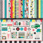Echo Park - Happy Days Collection - 12 x 12 Collection Kit