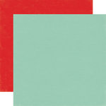 Echo Park - Homegrown Collection - 12 x 12 Double Sided Paper - Teal