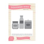 Echo Park - Homegrown Collection - Designer Dies - Canisters