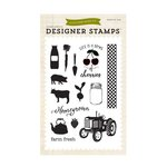 Echo Park - Homegrown Collection - Clear Acrylic Stamps - Farm Fresh