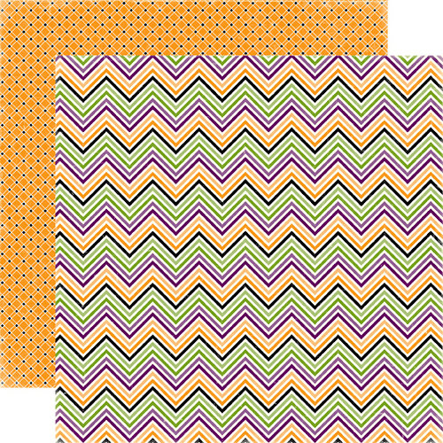 Echo Park - Happy Halloween Collection - 12 x 12 Double Sided Paper - Costume Party, CLEARANCE