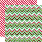 Echo Park - Holly Jolly Christmas Collection - 12 x 12 Double Sided Paper - Holiday Wrap