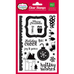 Echo Park - Holly Jolly Christmas Collection - Clear Acrylic Stamps