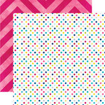 Echo Park - Here and Now Collection - 12 x 12 Double Sided Paper - Dots