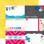 Echo Park - Here and Now Collection - 12 x 12 Double Sided Paper - 4 x 6 Journaling Cards