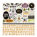 Echo Park - Hocus Pocus Collection - Halloween - 12 x 12 Cardstock Stickers - Elements