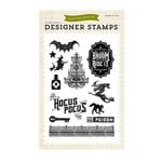 Echo Park - Hocus Pocus Collection - Halloween - Clear Acrylic Stamps