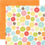 Echo Park - Hello Summer Collection - 12 x 12 Double Sided Paper - Doilies