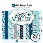 Echo Park - Hello Winter Collection - 6 x 6 Paper Pad