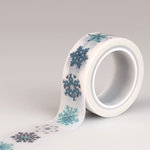 Echo Park - Hello Winter Collection - Decorative Tape - Snowflakes