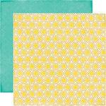 Echo Park - I Love Sunshine Collection - 12 x 12 Double Sided Paper - Sun Beams