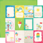 Echo Park - I Love Sunshine Collection - 12 x 12 Double Sided Paper - 3 x 4 Journaling Cards